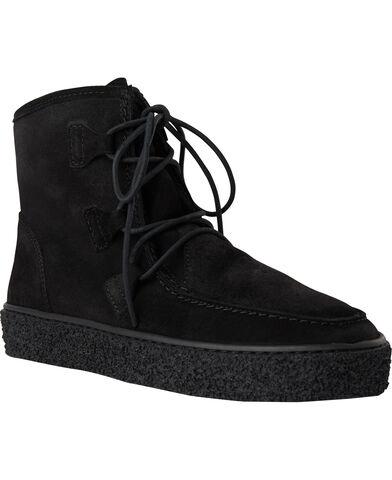 Kort snørre støvle