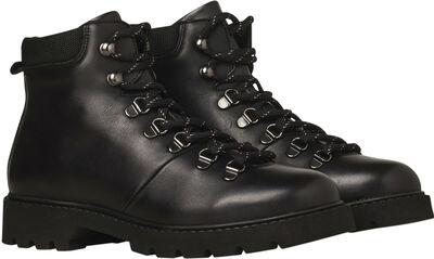 City Hiker - Black Leather