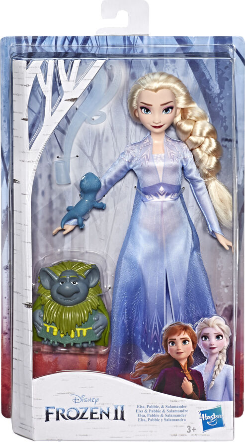 Disney Frozen 2 Storytelling Fashion Doll & Accessories Elsa