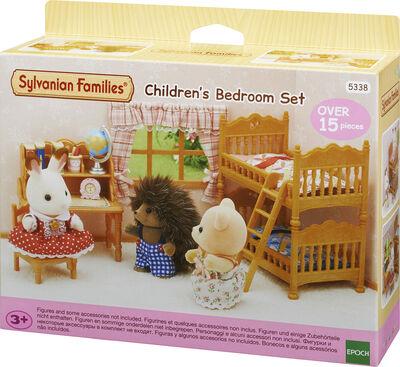 Landhus børneværelse med køjeseng