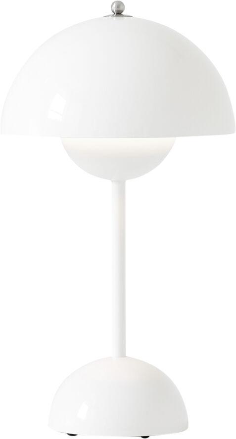 Flowerpot Table Portable VP9, White