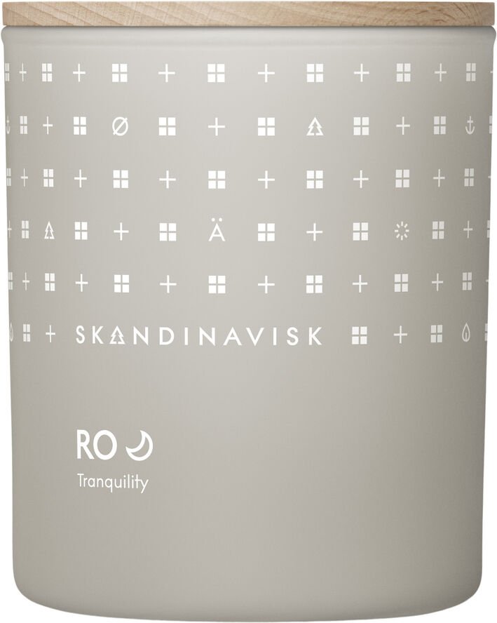 RO Scented Candle w Lid 200g