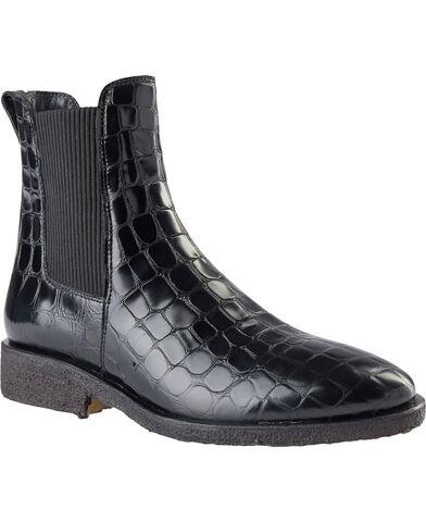Chelsea støvle m. elastik