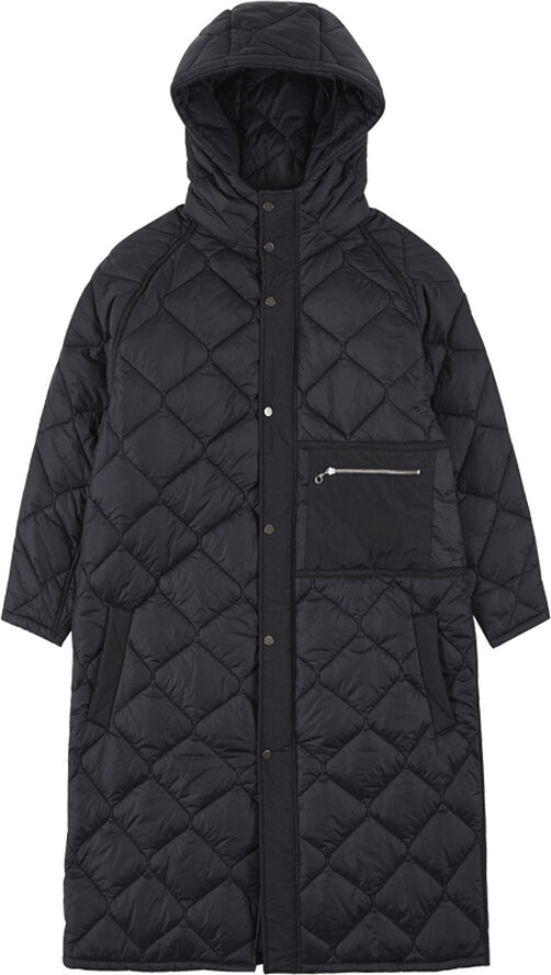UNISEX ALEXON INSIDE OUT QUILTED HOOD COAT