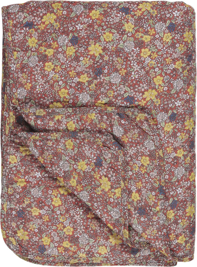 Quilt faded rose m/blomster