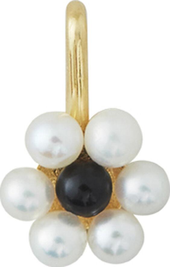 My Flower Charm 7mm w. Freshwater Pearls
