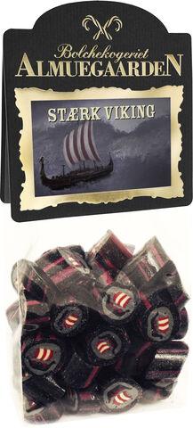 Stærke Vikinge bolcher med smag af pebret salmiak-lakrids