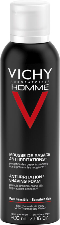 Vichy Homme barberskum til alle hudtyper 200 ml.