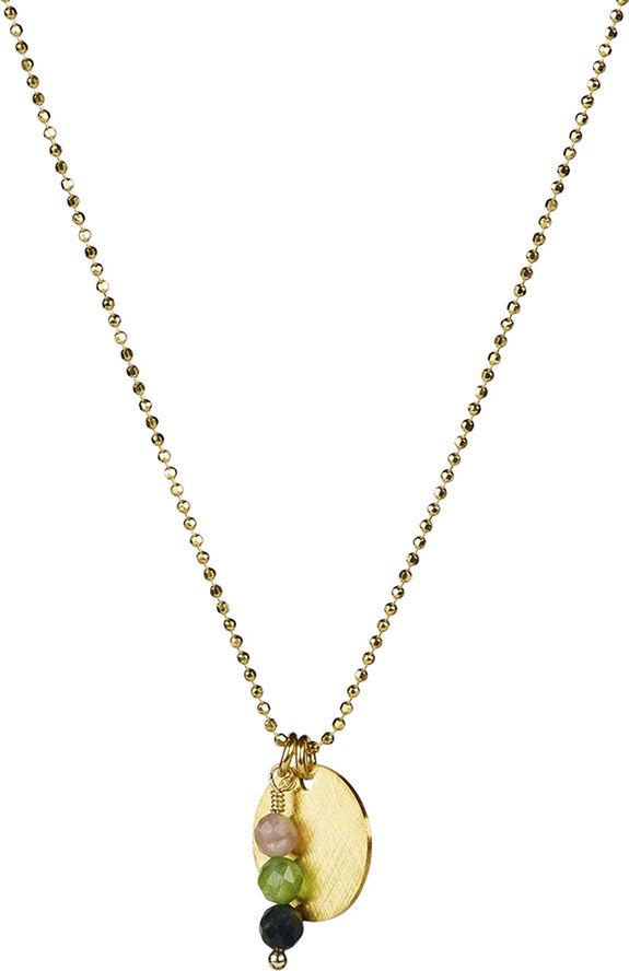 Vivian Tormaline Necklace - Gold