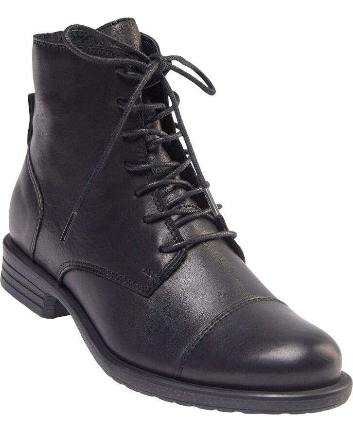 BIADANELLE Leather Derby Boot