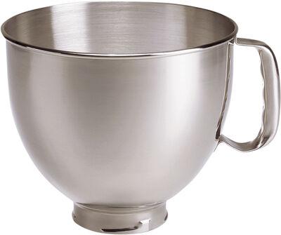 Artisan skål til standmixer stål 4,8 liter