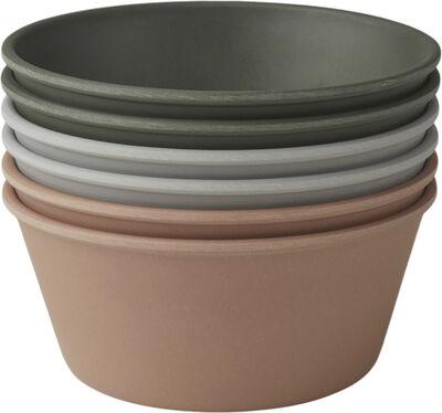 Greta bamboo bowl 6-pack