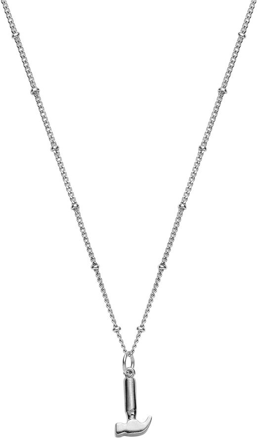 Hammer necklace Sterling Silver