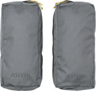 Asivik Hiker Side Pockets, Grey