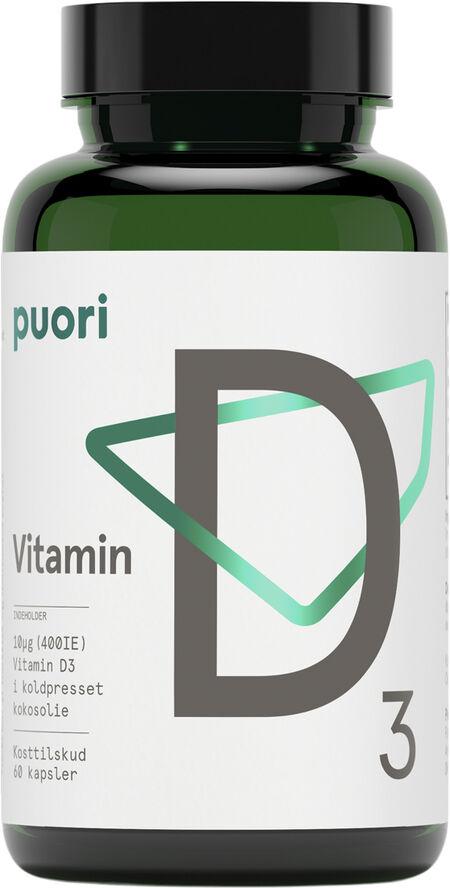 PUORI D3 400 - 60 capsules