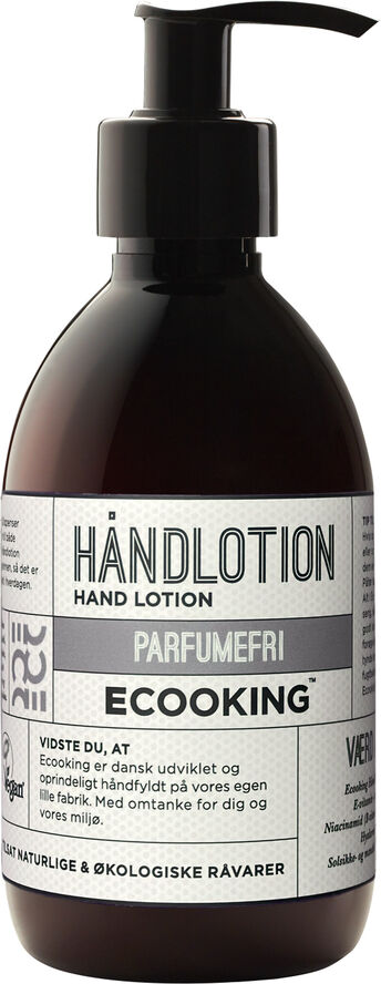 Håndlotion Parfumefri