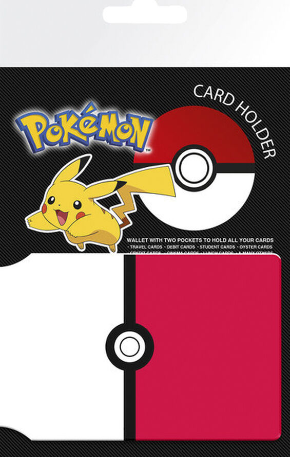 Pokemon Card Holder - Pikachu & Pokeball