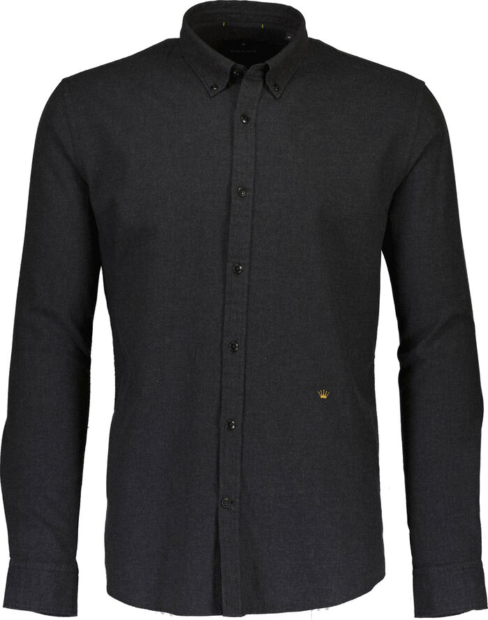 Brushed cotton L/S shirt