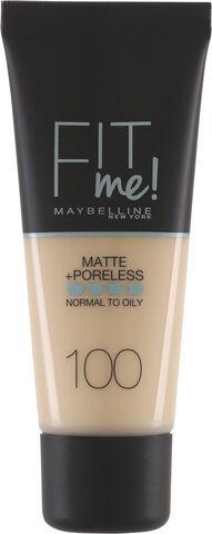 Fit Me Matte & Poreless Foundation