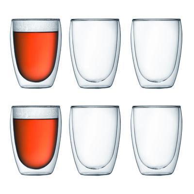 PAVINA Dobbeltvægget glas 6 stk. 0.35 l