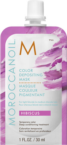 Moroccanoil Hibiscus Color Depositing Mask 30ml.