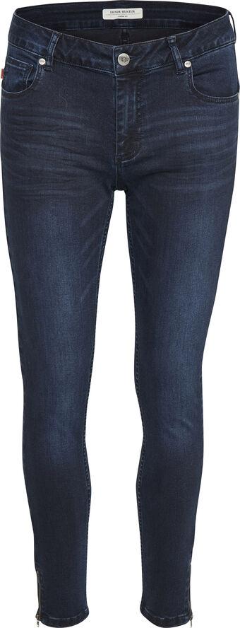 Celina zip custom jeans