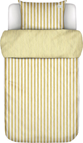 Mikkeli Duvet cover  140x200+60x63 Sunrise yellow