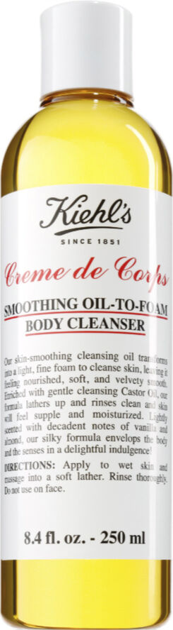 Creme de Corps Smoothing Oil to Foam Body Cleanser 250 ml.