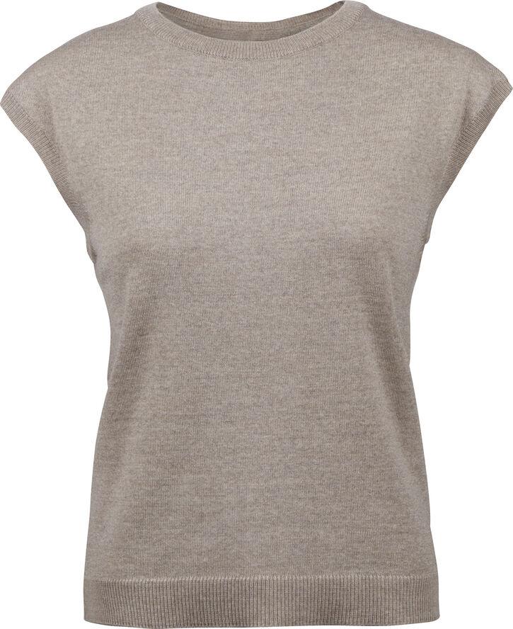 Knit, cap sleeve