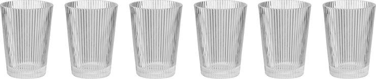 Pilastro drikkeglas, 0,33 l. - 6 stk