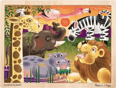 African Plains Jigsaw 24 pc