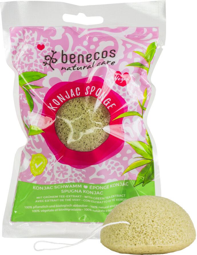Natural Konjac Sponge, Mix & Dry