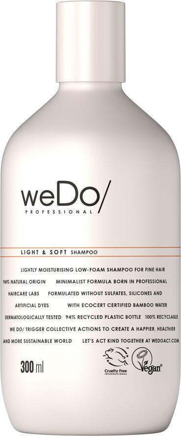 LIGHT & SOFT SHAMPOO 300 ml