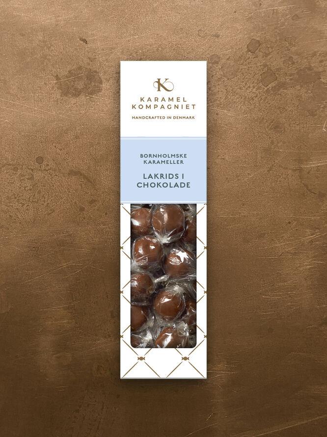 Lakrids i chokolade