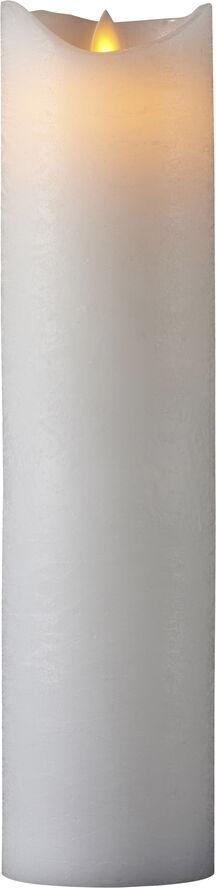 Sara ekskl. Ø7,5xH30cm, Hvid