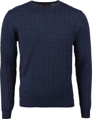 Crew neck cable, Merino wool