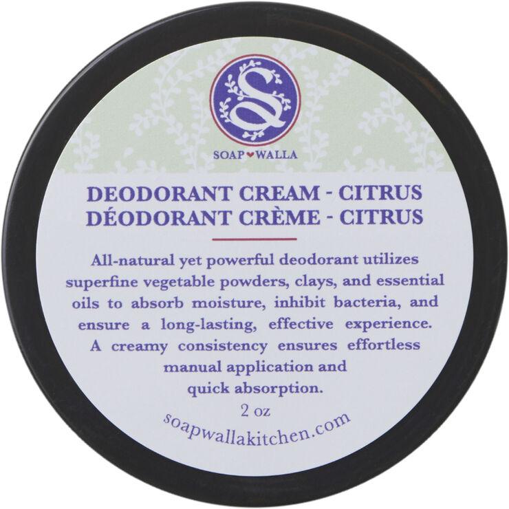 Deodorant creme - citrus