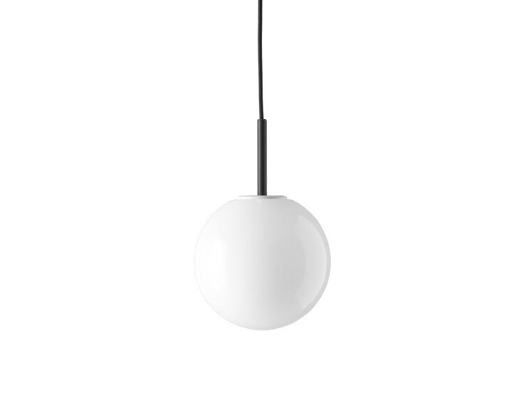 TR Bulb,Pendant, Black w. Shiny Opal Bulb
