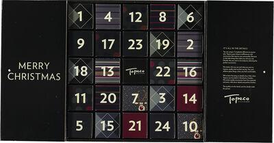 Topeco cotton socks Christmas calendar 12p