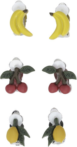 3 PACK EARCLIPS