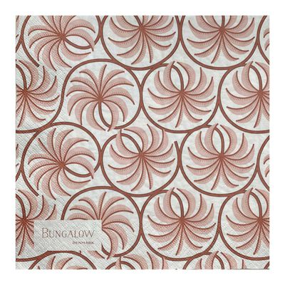 Paper Napkin Palm Blush 50pcs