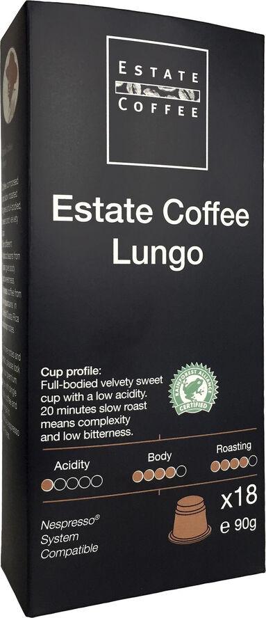 Estate Kaffekapsler Lungo 18 stk