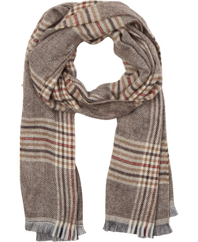 Nepoleon Scarf Brown Check