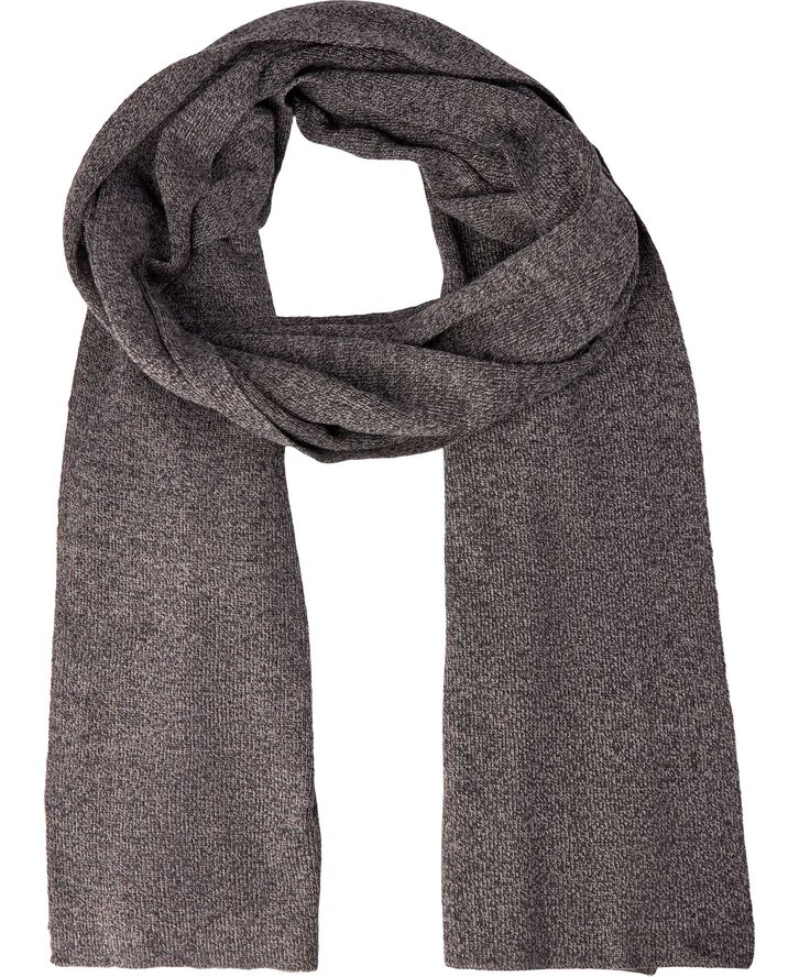 Ancher grey Knitted Scarf