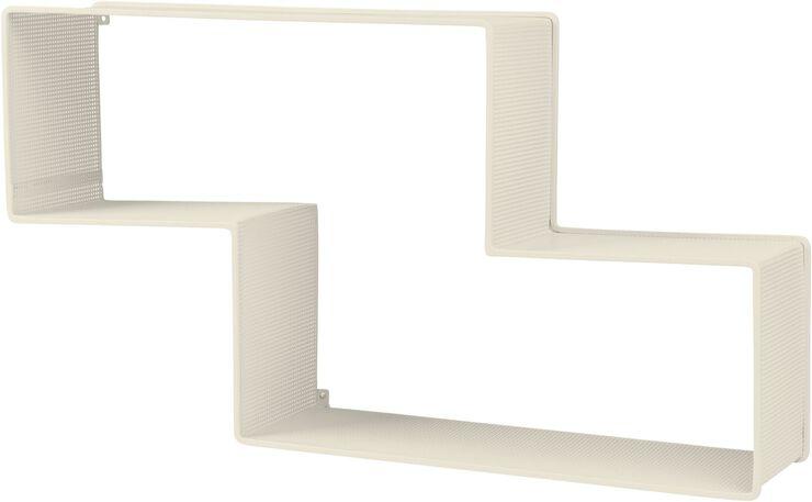 Dédal Shelf Cream White Semi Matt
