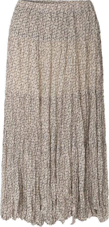 Lacing Midi Skirt