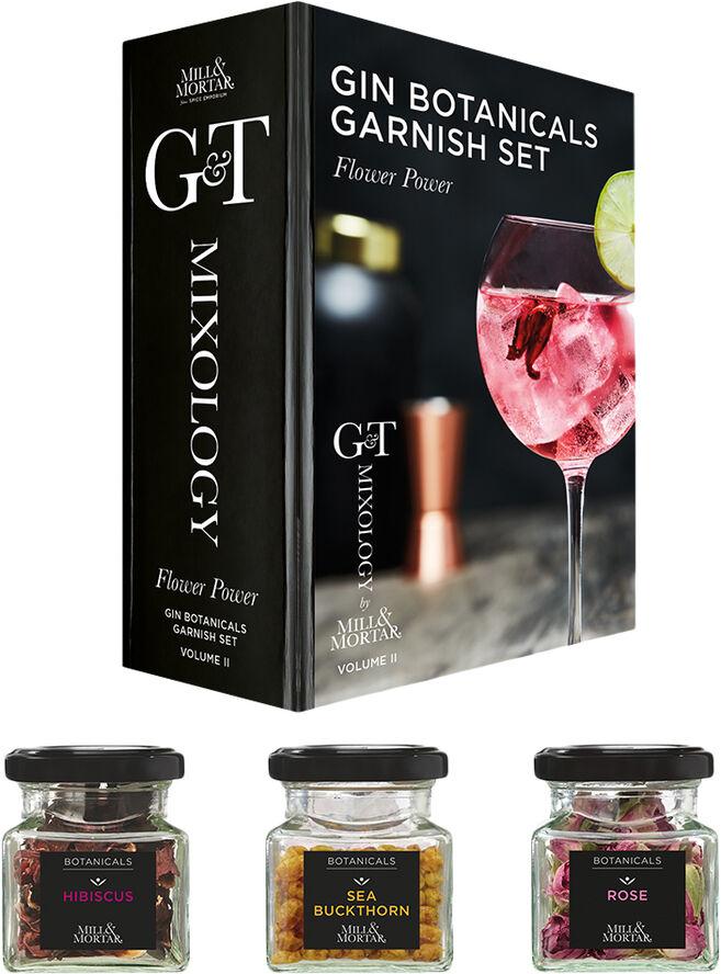Flower Power garnish til Gin & Tonic
