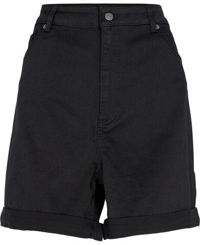 Fold Up Denim Shorts