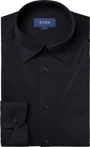 Long Sleeve Pique Shirt slim fit