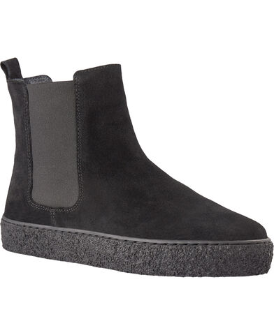 Elastic boot with plateau sole